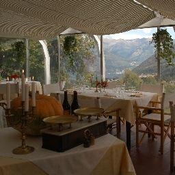 Sala de desayuno Villa Simplicitas