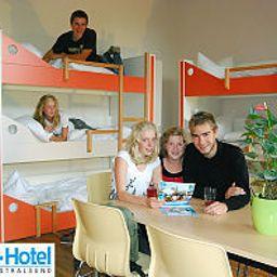Camera a quattro letti Younior-Hotel Stralsund