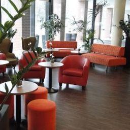 Vestíbulo del hotel Citadines Munich Arnulfpark