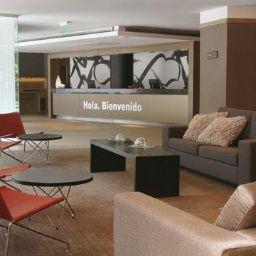 Vestíbulo del hotel NH Buenos Aires 9 de Julio