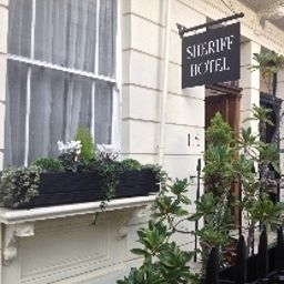 Exterior view Sheriff Hotel London (England)