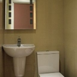 Bagno in camera Sheriff Hotel London (England)