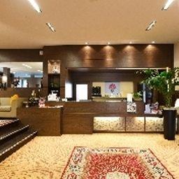 Vestíbulo del hotel Villa Delle Rose