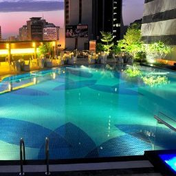 Schwimmbad Crowne Plaza GUANGZHOU CITY CENTRE