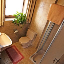 Bagno in camera Appartements Alpenrose Pension
