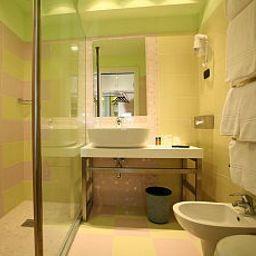 Cuarto de baño Mediterraneo Hotel & Motel