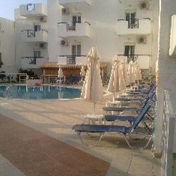 Außenansicht Irilena Apartments