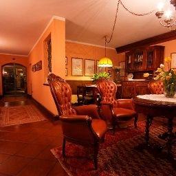 Część wewnętrzna hotelu Arnaldo Aquila d'oro