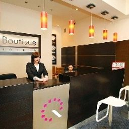 Reception Boutique Hotel's I Business Łódź (Łódź Voivodeship)