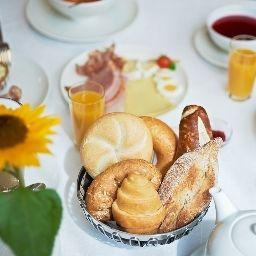 Bufet de desayuno Sternen Hotel