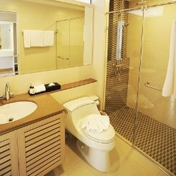Bagno in camera Baan K Residence managed by Bliston Bangkok (Bangkok Metropolitan Region)