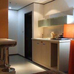 Pokój Jingchen Apartment Hotel - Nanning