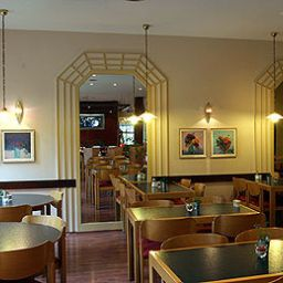Breakfast room within restaurant ibis Duisburg Hauptbahnhof