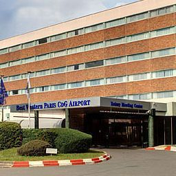 Exterior view Best Western Paris CDG Airport