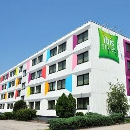 Vista esterna ibis Styles Linz (ex all seasons)