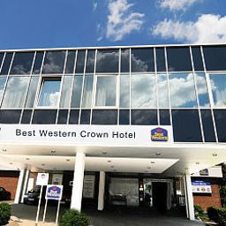 Vista esterna Best Western Plus Crown Hotel