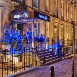 Exterior view Hilton Edinburgh Grosvenor hotel