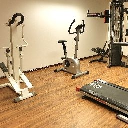 Fitness room Best Western President