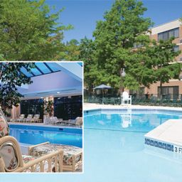 Бассейн Hilton Woodcliff Lake