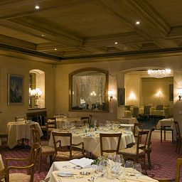 Breakfast room within restaurant Mont Cervin Palace Seiler Hotels