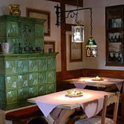 Breakfast room within restaurant Schwarzer Adler