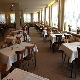Breakfast room within restaurant Hotel L´Europe