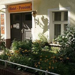 Фасад Tempelhof Pension-Hotel