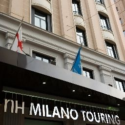Exterior view NH Milano Touring