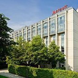 Фасад Munich Marriott Hotel