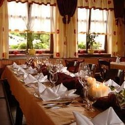 Breakfast room within restaurant Zum Kellermann Gasthaus