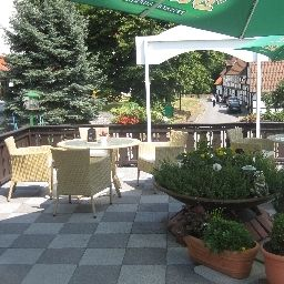 Terrasse Meyer-Pilz Land-gut-Hotel Fotos