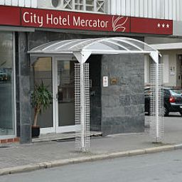 Vista esterna City Hotel Mercator
