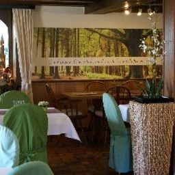 Breakfast room within restaurant Alexandras Storchen