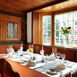 Breakfast room within restaurant Landhaus Carstens