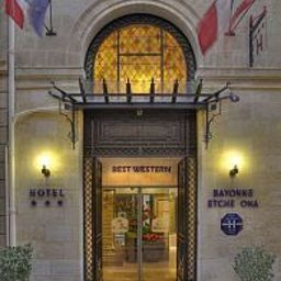 Фасад Best Western Bordeaux Bayonne Etche Ona - No smoking Hotel -