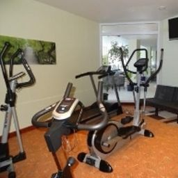 Fitness room Parkhotel