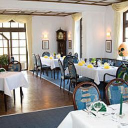Breakfast room within restaurant Deutsche Eiche
