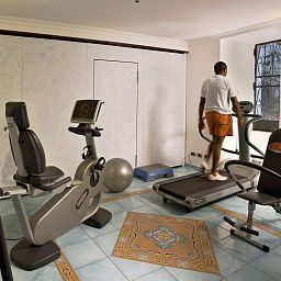 Fitness room Best Western Marmorata