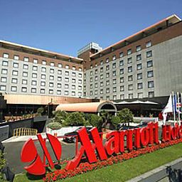 Фасад Milan Marriott Hotel