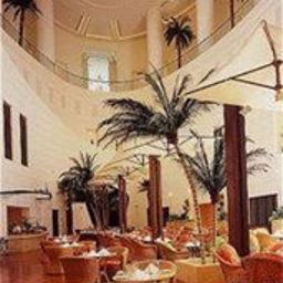 Breakfast room within restaurant Le Royal Hotel Amman, Jordan