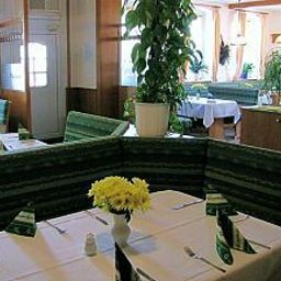 Breakfast room within restaurant Melchendorf Gasthof
