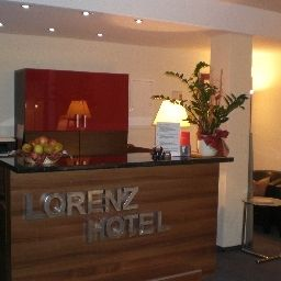 Reception Lorenz Hotel Zentral