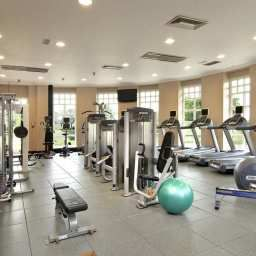 Wellness/fitness area Hilton Puckrup Hall Tewkesbury