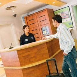 Reception Ibis Budget Erfurt Ost
