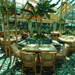 Breakfast room within restaurant Royal Garden