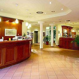 Recepcja Best Western Grand City Parkhotel Potsdam