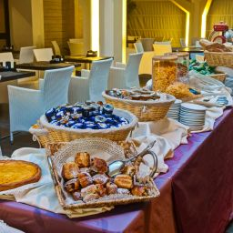 Breakfast room Best Western Hotel Quattrotorri