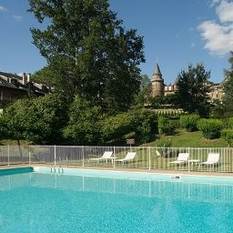 Pool Chateaux de Castel Novel Chateaux et Hotels Collection