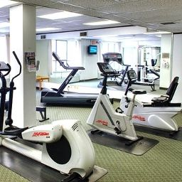 Fitness room Best Western PLUS Carlton Plaza