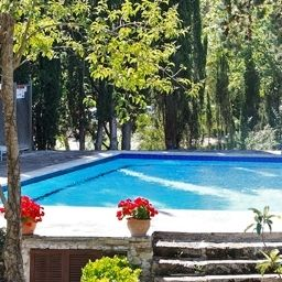 Pool L`Hermitage Hotel & Spa Hotel Rural
